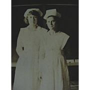 Nurse Nurses Rppc Real Photo Postcard 1918-1930