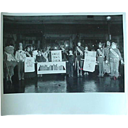 Halloween Play Photo Photograph 40s-50s Play Entitled Between The Bookends Gone With The Wind Uncle Tom's Cabin Robin Hood