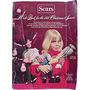 Sears Wish Book Christmas Catalog 1971 Trains Dolls