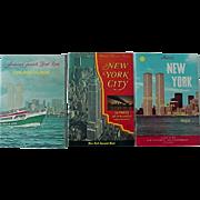 New York City Souvenir Nester Bi Centennial  Cruise Guide Book Lot Of # Books 1970s Features World Trade Center