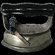 Vintage Child's Abestos Sad Iron Patent May 22, 1900