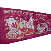 Ringling Bros And Barnum And Bailey Circus 40s-50s Pennant