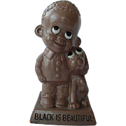 Black Americana Russ Berrie & Co 1970 Black Is Beautiful Figurine Figural