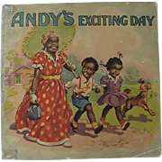 Black Americana Andy's Exciting Day Soft Cover Book By Juvenile Productions LTD
