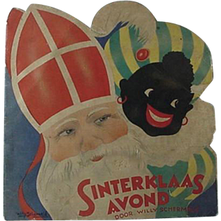 St Nicholas And Black Peter Christmas Book 1950s