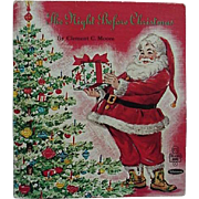The Night Before Christmas Book 1969 Whitman Tell A Tale By Clement C. Moore Illustrated By Florence Kinship