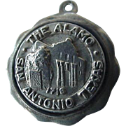 Bates And Klinke Sterling Travel Souvenir Charm San Antonio Texas The Alamo