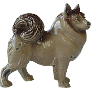 Husky Dog Metal Figurine Great Color