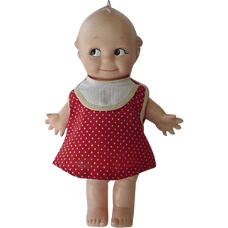 Cameo Kewpie Doll With Initials JLK 1974