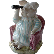 Royal Albert Beatrix Potter Figurine Little Pig Robinson Spying