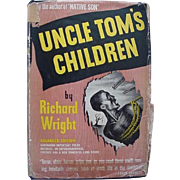 Black Americana Book Uncle Tom's Children By Richard Wright 1943