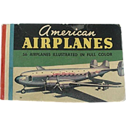 American Airplanes 56 Airplanes Illustrated In Full Color
