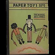 Paper Toys Book No 2 By Anna E Pauli Sambo On Cover