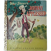 Walt Disney Johnny Appleseed Little Golden Book 1949