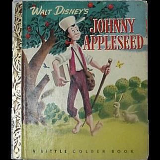Walt Disney Johnny Appleseed Little Golden Book 1949