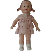 Sun Rubber Co Squeaker Girl Doll 1955