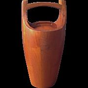 Iconic Dansk Quistagaard Congo Mid-Century Teak Ice Bucket