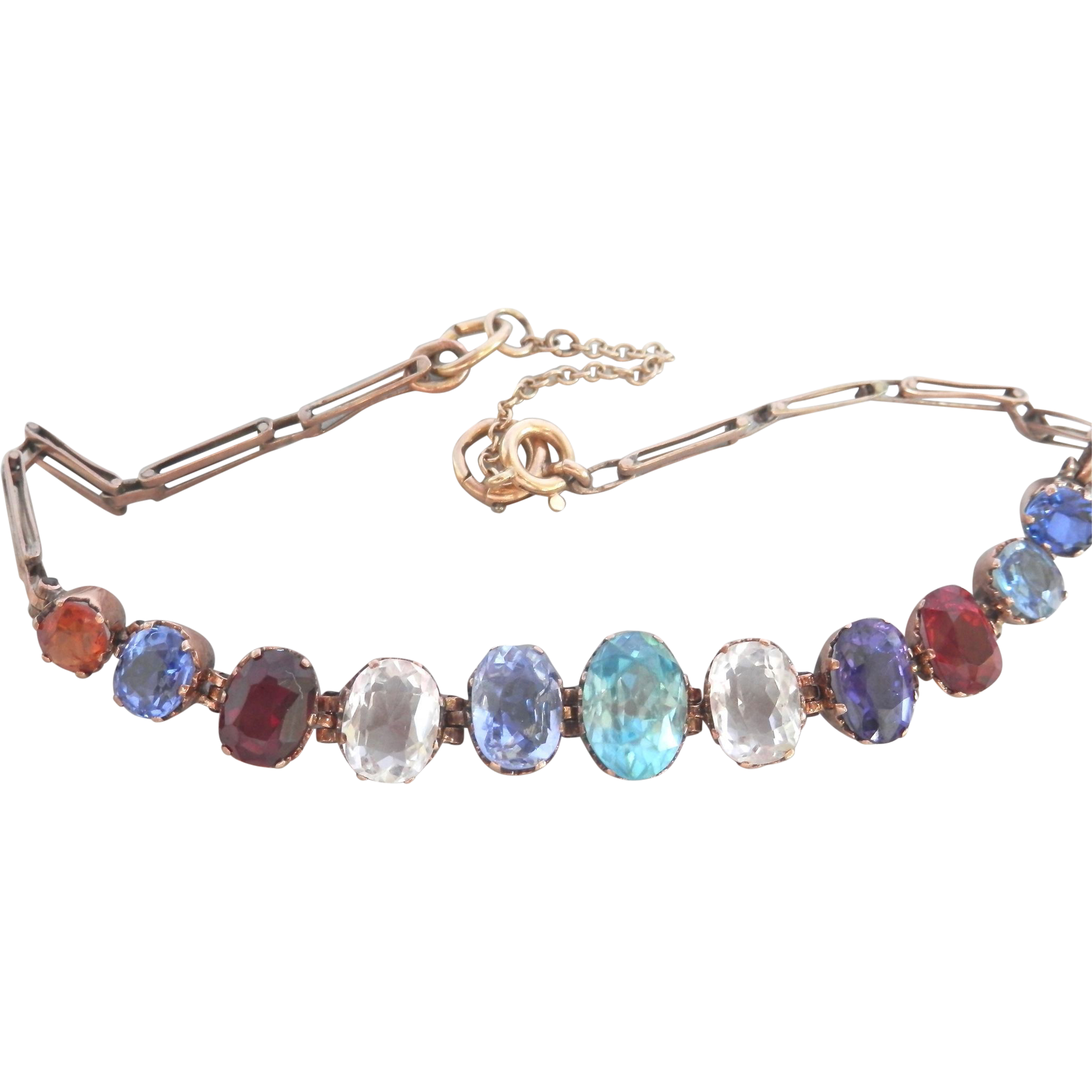 products december cz birthstone sterling blue topaz accents silver in ostbrabirdec gem bracelet tennis with