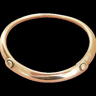 Georg Jensen Vintage Silver TORUN Bracelet, Signed