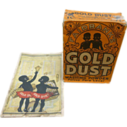 Black Americana Gold Dust Advertising Booklet And Washing Powder