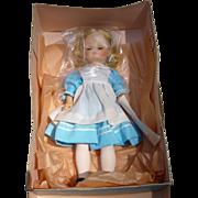 "NOS 13"" Madame Alexander Alice Doll"