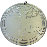 Kirk 1972 Sterling Cherub Christmas Ornament