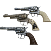 Toy Cowboy Cap Pistols - Red Tag Sale Item