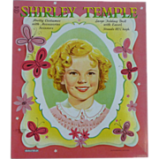Ideal Doll Saalfield Shirley Temple Uncut Paper Dolls