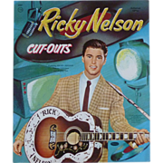Uncut Set Of Ricky Nelson Paper Dolls