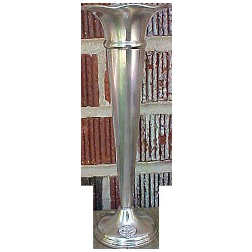 Vintage Sterling Cartier Presentation Vase Guardian Insurance