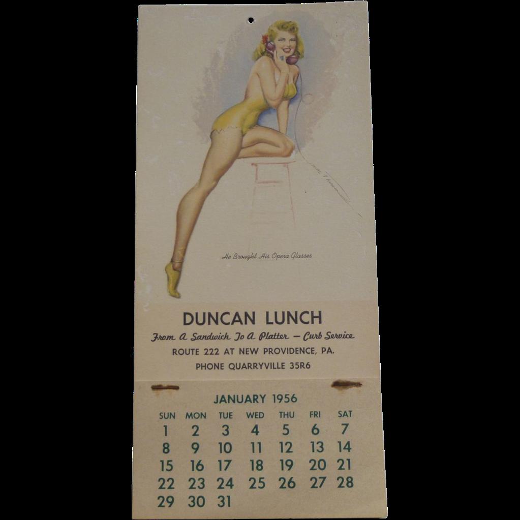 Pin Up Calendar Vintage : Pennsylvania pin up calendar from amazingamericana on
