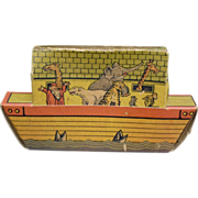 Noah's Ark Candy Container