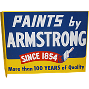 Final Reduction Will Be Removed 7/25 Paints By Armstrong Double Sided Flange Advertising Sign