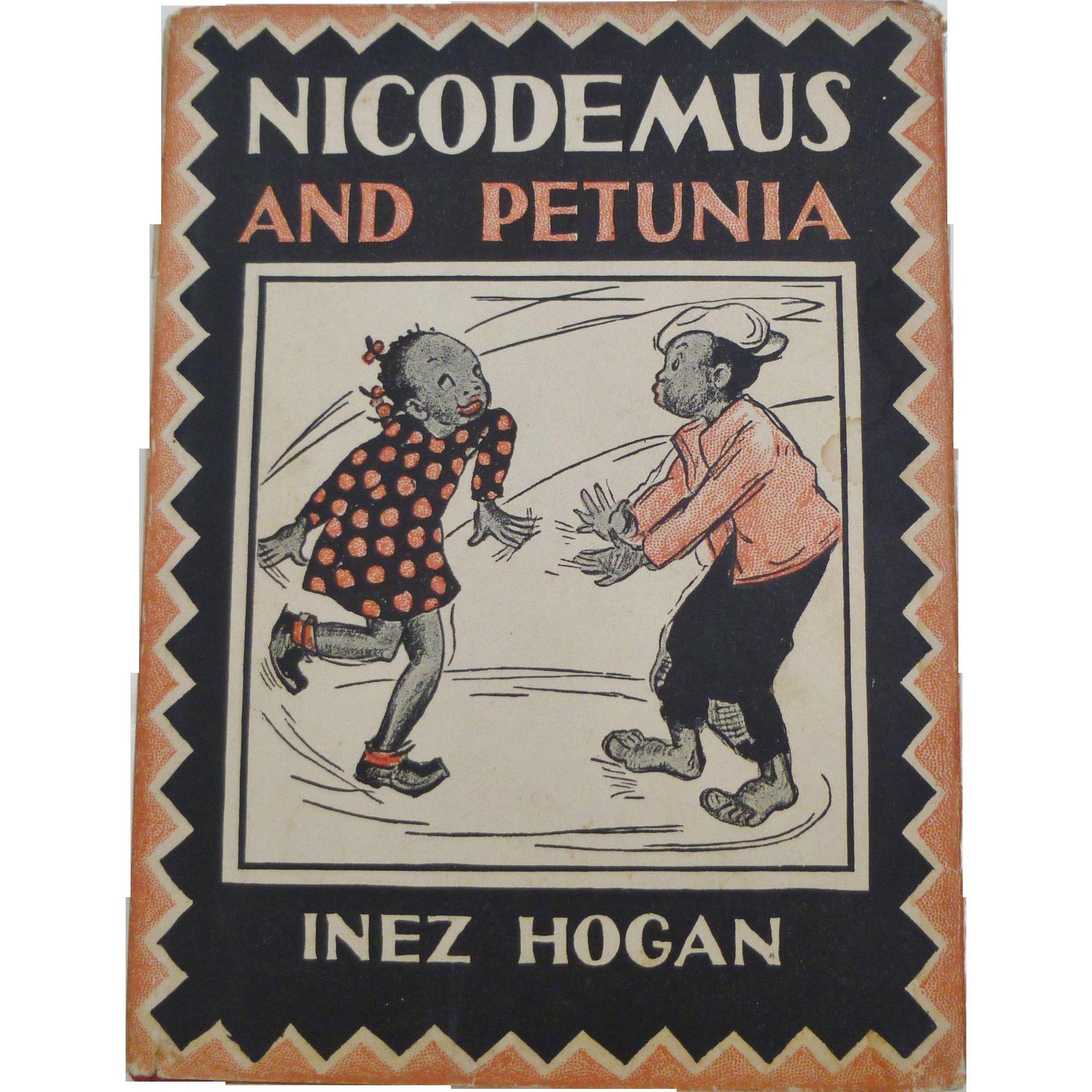 black americana nicodemus and petunia children s book amazing