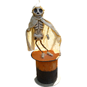 Skeleton Halloween Candy Container