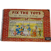 Fix The Toys Rare Interactive Children's Book Complete