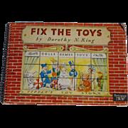 Fix The Toys Rare Interactive Children's Book Complete