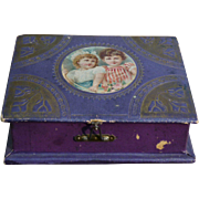 Precious Child's Sewing Box Made In Germany - Wonderful Contents