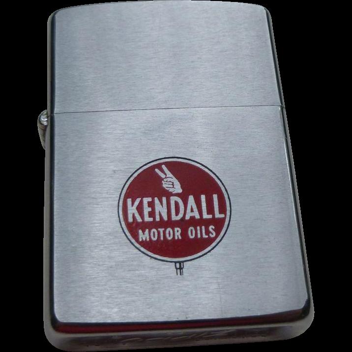 Kendall Motor Oil Advertising Zippo Lighter Sold On Ruby Lane