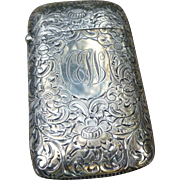 Gorgeous Sterling Matchsafe