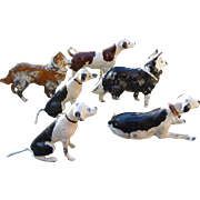 Dollhouse Lead Dog Figures