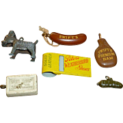 Vintage Advertising Premiums Charms