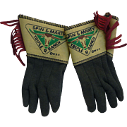 Walt Disney Spin And Marty Cowboy Gloves