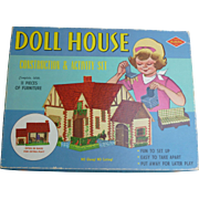 Built Rite Doll House Construction & Activity Set