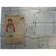Little Red Riding Hood Cloth Doll Pattern