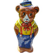 Chein Wind Up Tin Toy Bear