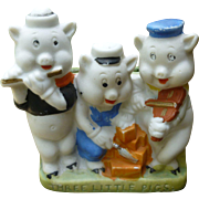 Disney Three Little Pigs Toothbrush Holder