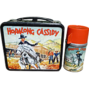 Hopalong Cassidy Aladdin Lunchbox W/Thermos