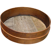 Primitive Bentwood Sieve Sifter