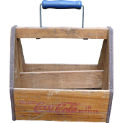 40's Wooden Coca Cola Bottle Carrier